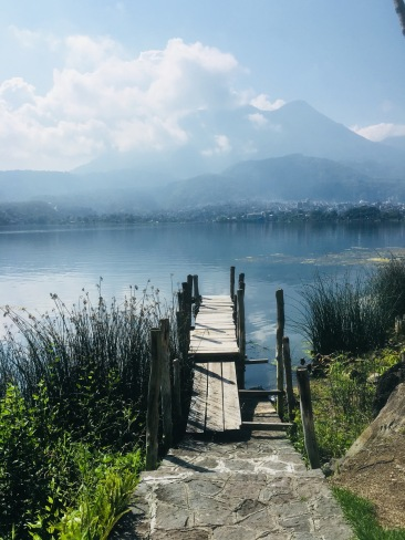Dock across the bay from Santiago